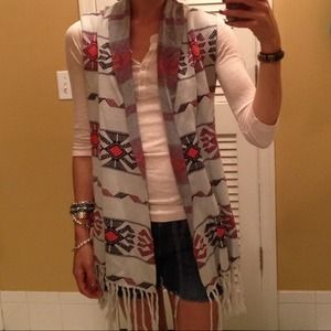 "Quiksilver Sweaters - Tribal ""Blanket"" Sweater Vest"