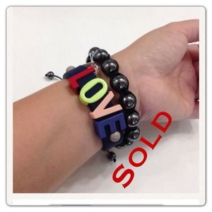 BCBG Accessories - 💰💰SOLD💰💰BCBG Love bracelet brand new