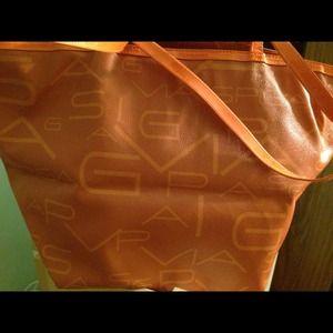 Handbags - Via Spiga Large orange  bag $35 reduce