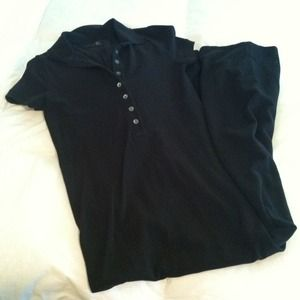 J. Crew Dresses & Skirts - Sold!!! J. Crew Black Polo Maxi Dress