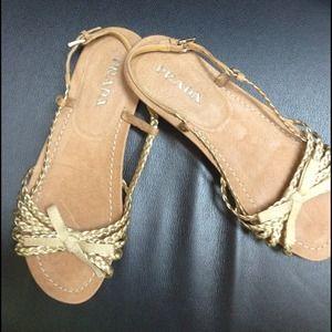 Never worn Prada flats sandals.