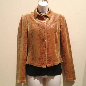 Betsey Johnson Jackets & Blazers - Reduced!!! 👘Snakeskin Jacket