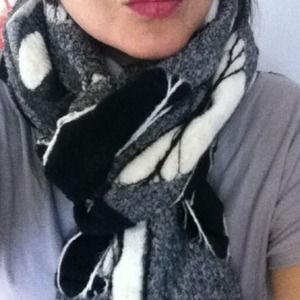 Accessories - Gorgeous Hand Felted Wrap/Scarf