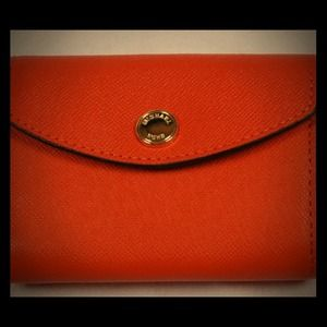 MICHAEL Michael Kors Clutches & Wallets - ❌SOLD❌! Michael Kors Saffiano card holder.