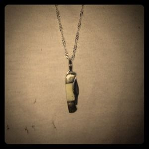 Jewelry - Rough Riders Mini Knife Necklace