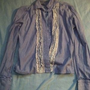 Tops - Stripe button up shirt