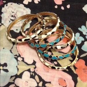 ASOS Jewelry - SOLD: Cluster of 6 Bangles