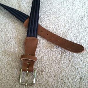 Accessories - Black and grey belt