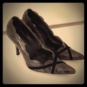 Colin Stuart Lace Heels