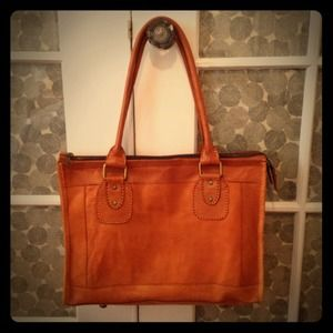 Reserved for @asloan4 Whiskey colored leather bag