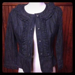 CLEARANCE Ann Taylor Loft Denim Jacket