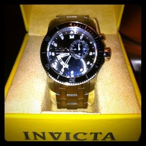 🔴 SOLD 🔴 Invicta men's stainless steel watch