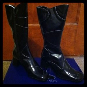 Shoes - Black boots. Brand new.