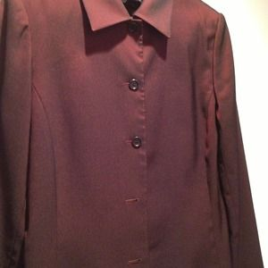 Jackets & Blazers - New listing.  Burgundy pantsuit