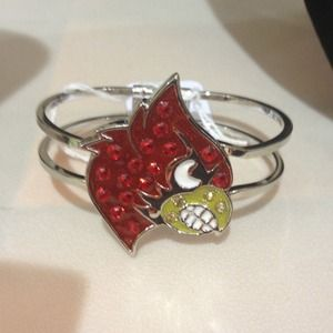 Jewelry - (New) University of Louisville Cardinal Bracelet❤