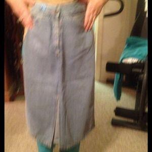 Denim - Moret jean skirt