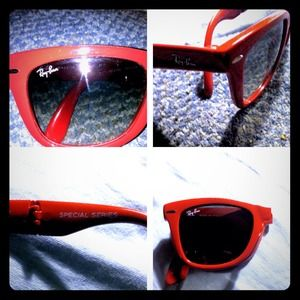 Red foldable special series ray bans