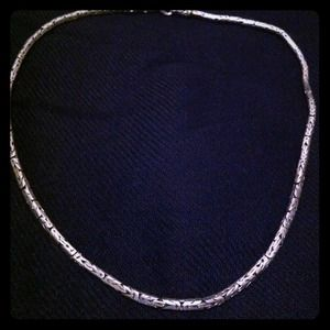 Jewelry - Grecian Sterling Silver Necklace