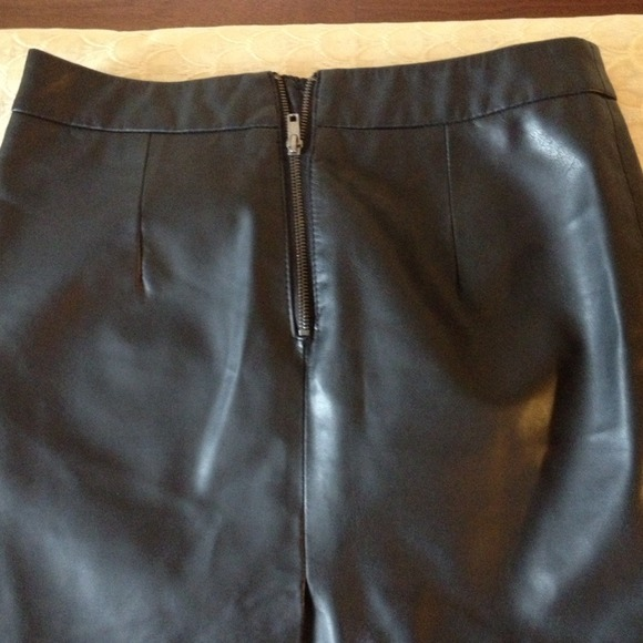 Forever 21 Dresses & Skirts - Leather skirt 3