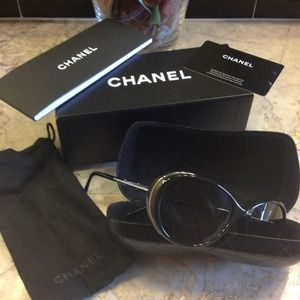 CHANEL Accessories - ✨SOLD✨Absolutely ADORABLE CHIC CHANEL sunglasses!