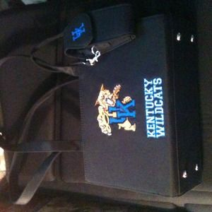 Handbags - University of Kentucky Wildcat Handbag❤
