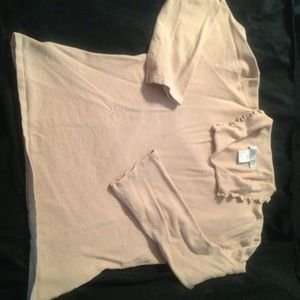 Tops - V.A.S. tan sweater