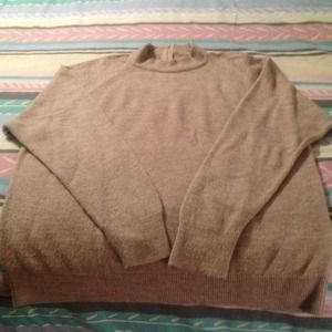 Sweaters - Pull over brown sweater