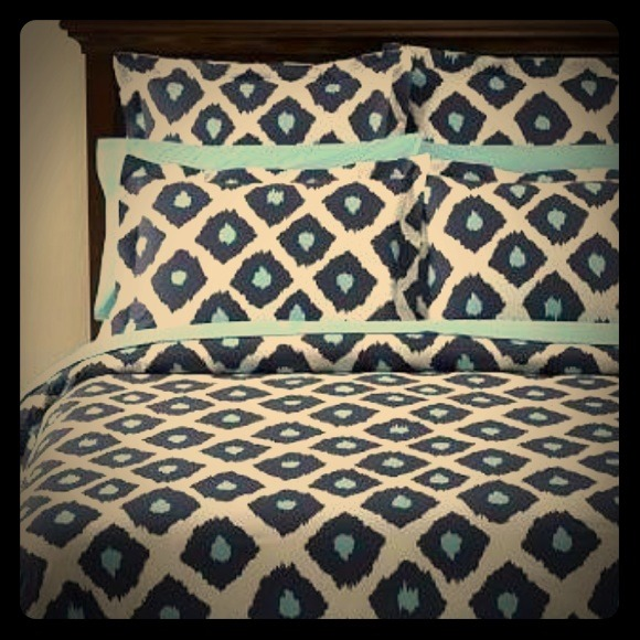 Pottery Barn Other - Ikat Pottery Barn Bedding