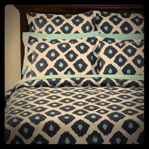 Pottery Barn Other - Ikat Pottery Barn Bedding 1