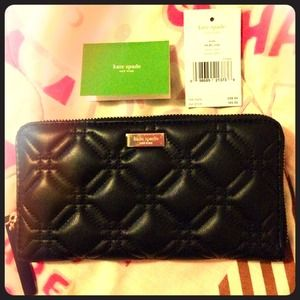 kate spade Clutches & Wallets - !!!!!SALE!!!!!! NWT Kate Spade leather clutch