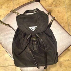 Prada nylon backpack- NO LONGER AVAILABLE