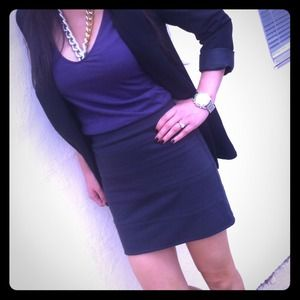 ⬇Charcoal Bandage mini skirt