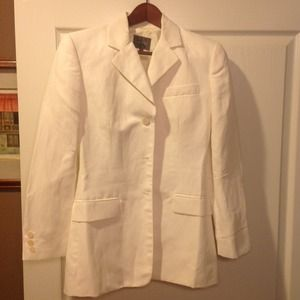 Reduced!!! Calvin Klein ivory blazer