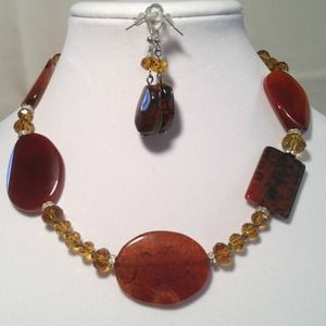 Jewelry - Brown Necklace Set❤