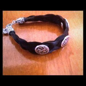Jewelry - Montana silver horsehair Bracelet