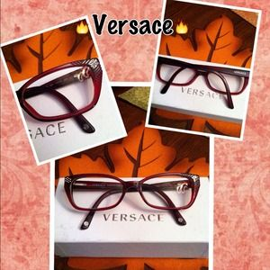 Versace Accessories - Vintage inspired!🔥Red Hot Versace eyeglasses!🔥