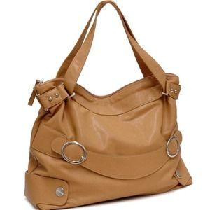 Handbags - Tan Shoulder Straps Handbag❤