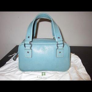 kate spade Handbags - Kate Spade Teal Tote Handbag