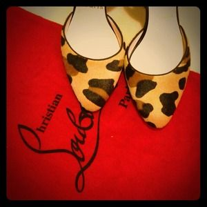 Christian Louboutin Shoes - 📫Reserved for@ruthdiaz 📫Louboutins Leopard print