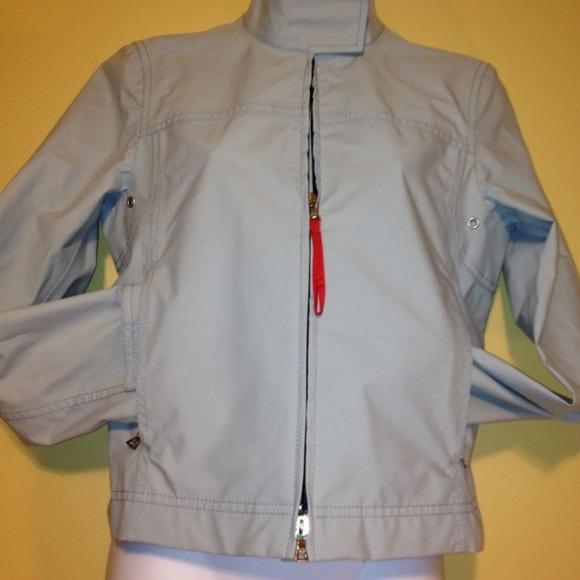 0dace0a3 Authentic PRADA Jacket Light Blue GORE-TEX ITALY