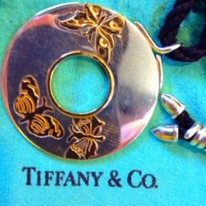 Authentic TIFFANY & CO STERLING 18K GOLD NECKLACE