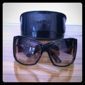 Gucci Accessories - 💗Trade💗Gucci grey tortoiseshell