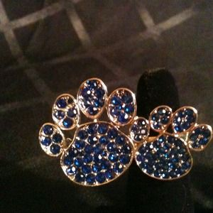 Jewelry - Double Paw 2-Finger Stretch Ring❤