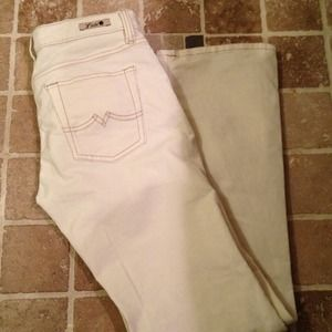 Lucky Brand Pants - REDUCED Lucky Brand cream corduroy