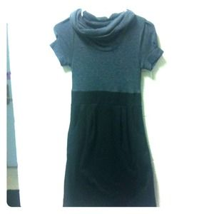 Dresses & Skirts - Black and gray dress