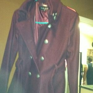 Brand new wool peacock coat. Reduced!!!!