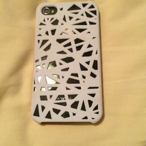 Accessories - White iPhone 4 case