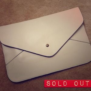 Clutches & Wallets - Oversized envelope clutch
