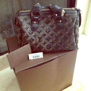 Louis Vuitton Bags - Limited edition LV Eclipse Speedy 1