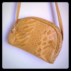 Vintage Animal Print Crossbody